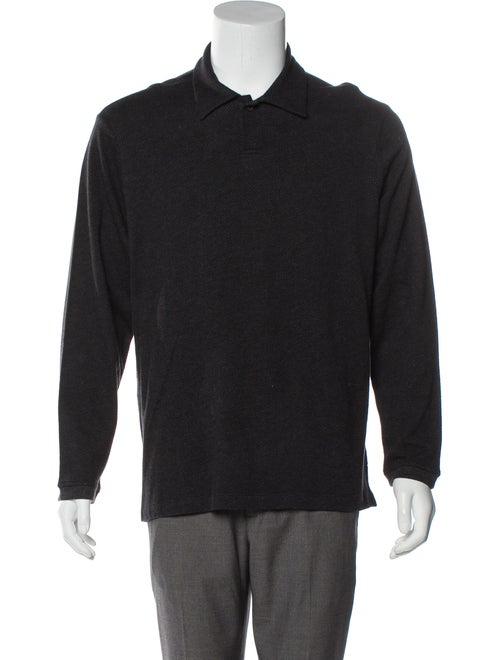 Perry Ellis Striped Polo Shirt