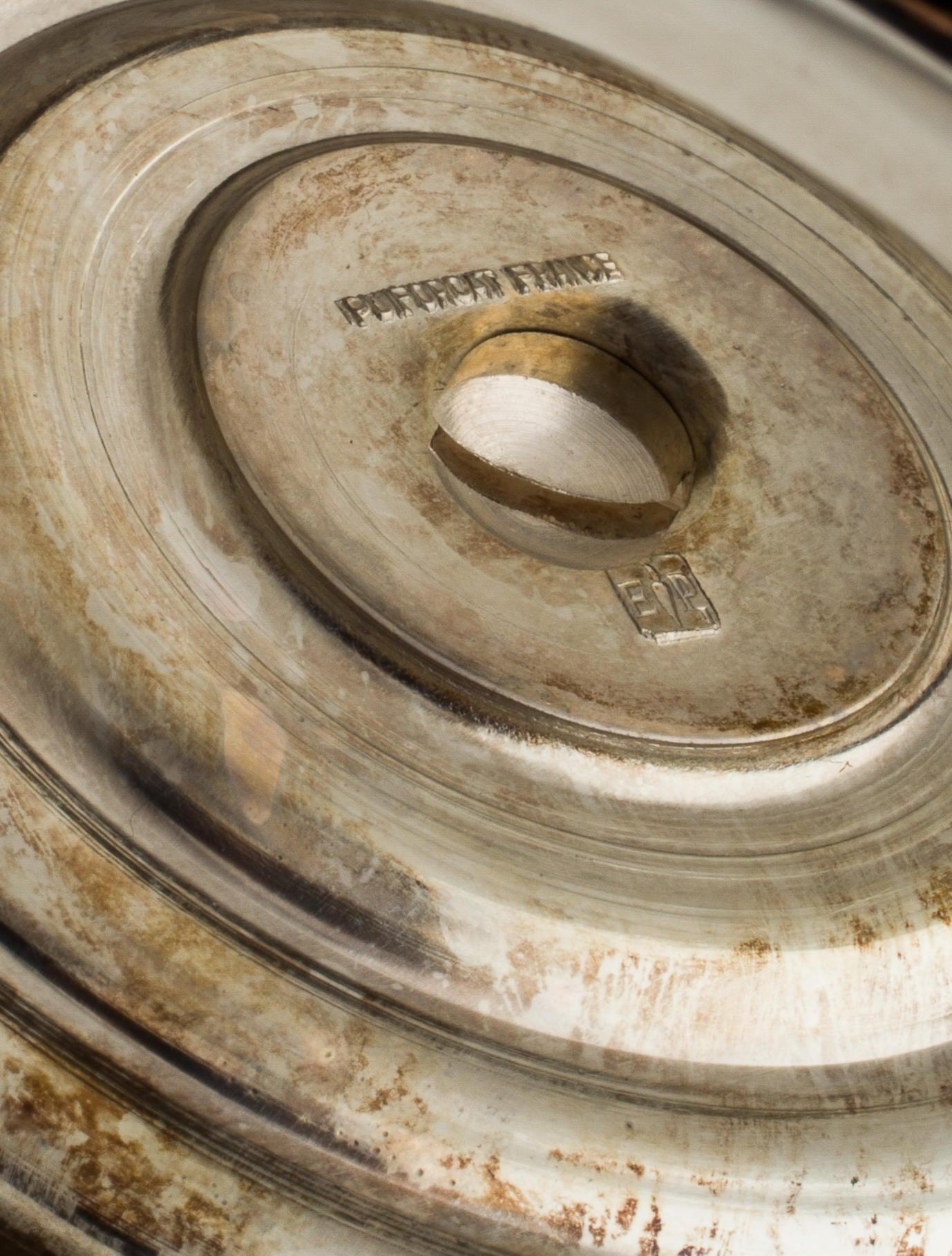 Puiforcat silver plate tazza bowl decor and accessories for Artistic accents genuine silver decoration