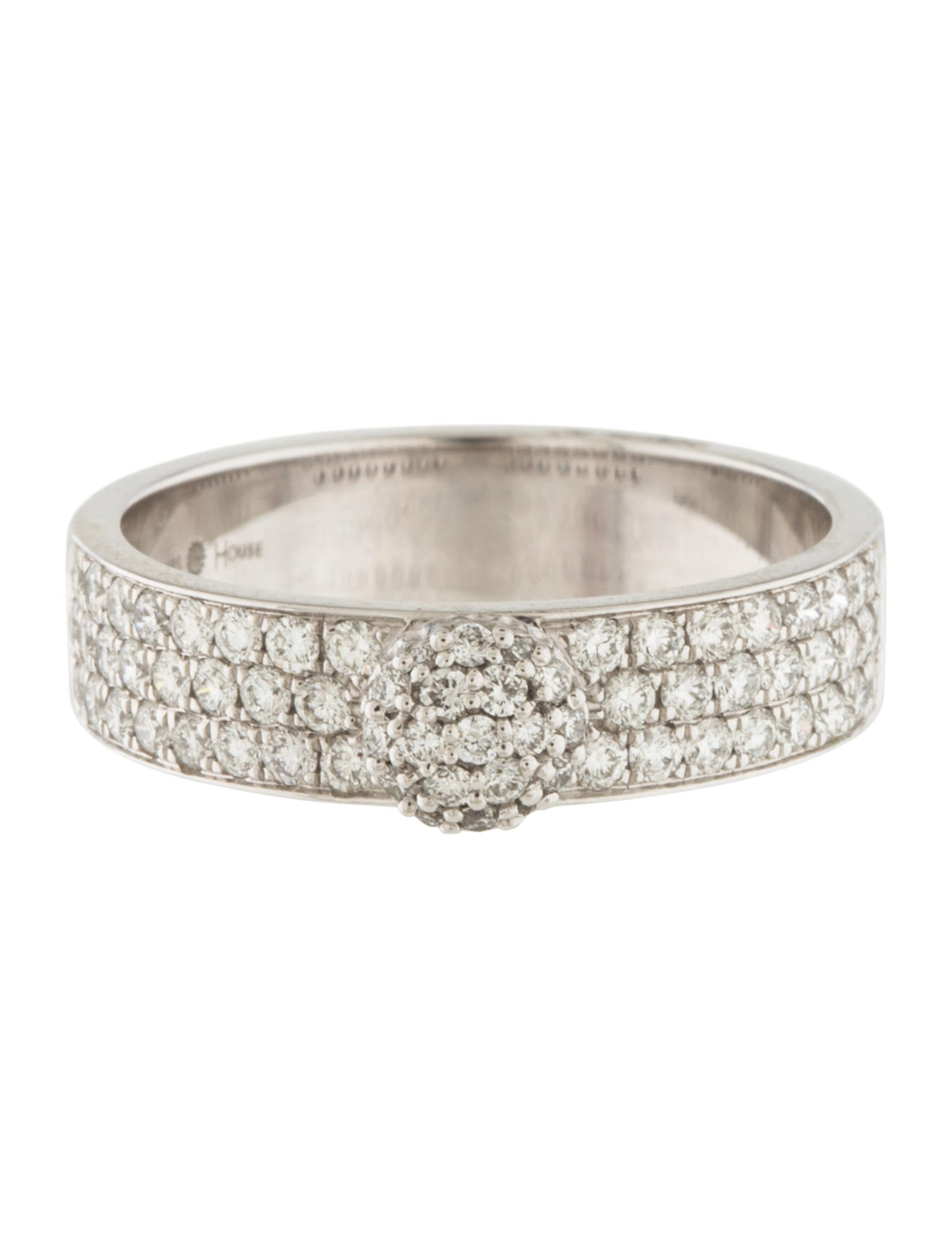 Phillips house 14k diamond infinity affair stack ring for Infinity ring jewelry store