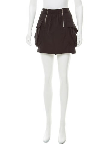 Phi Courier Mini Skirt w/ Tags None