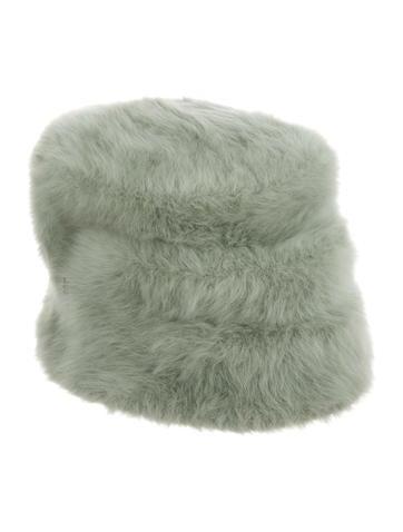 Philip Treacy. Fur Bucket Hat 28e70f3d2d52