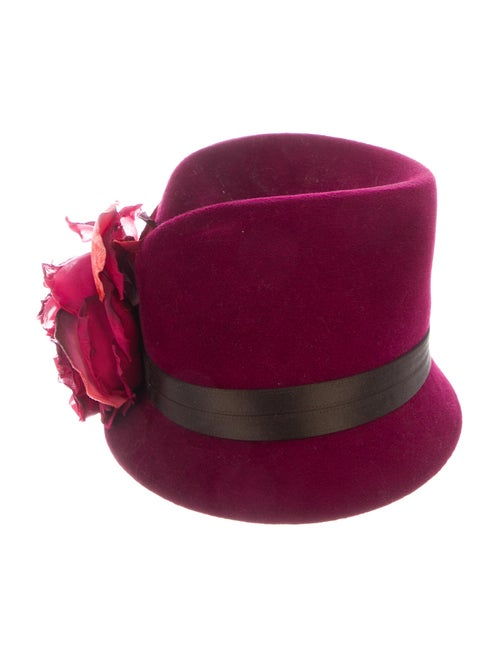Philip Treacy Felt Fedora Hat