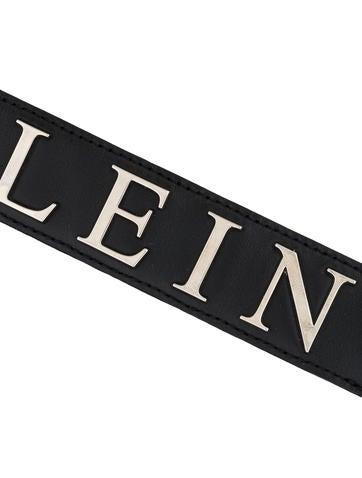 Logo Leather Keychain