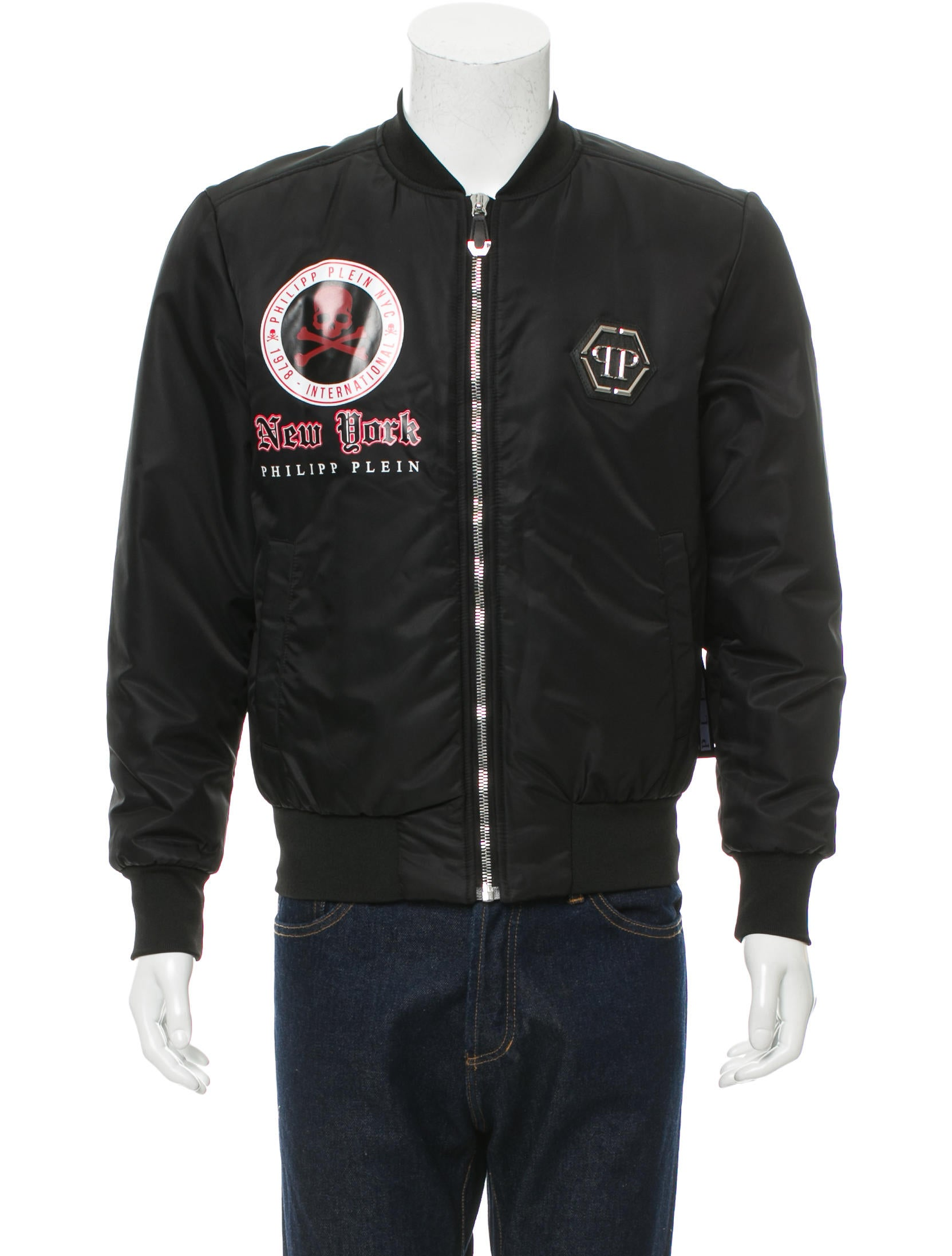 Philipp plein croco jacket