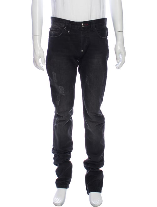 Philipp Plein Skinny Jeans Green