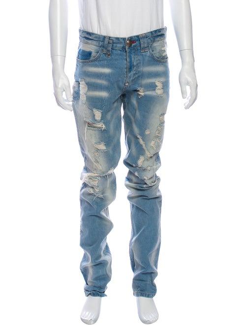 Philipp Plein Skinny Jeans Blue