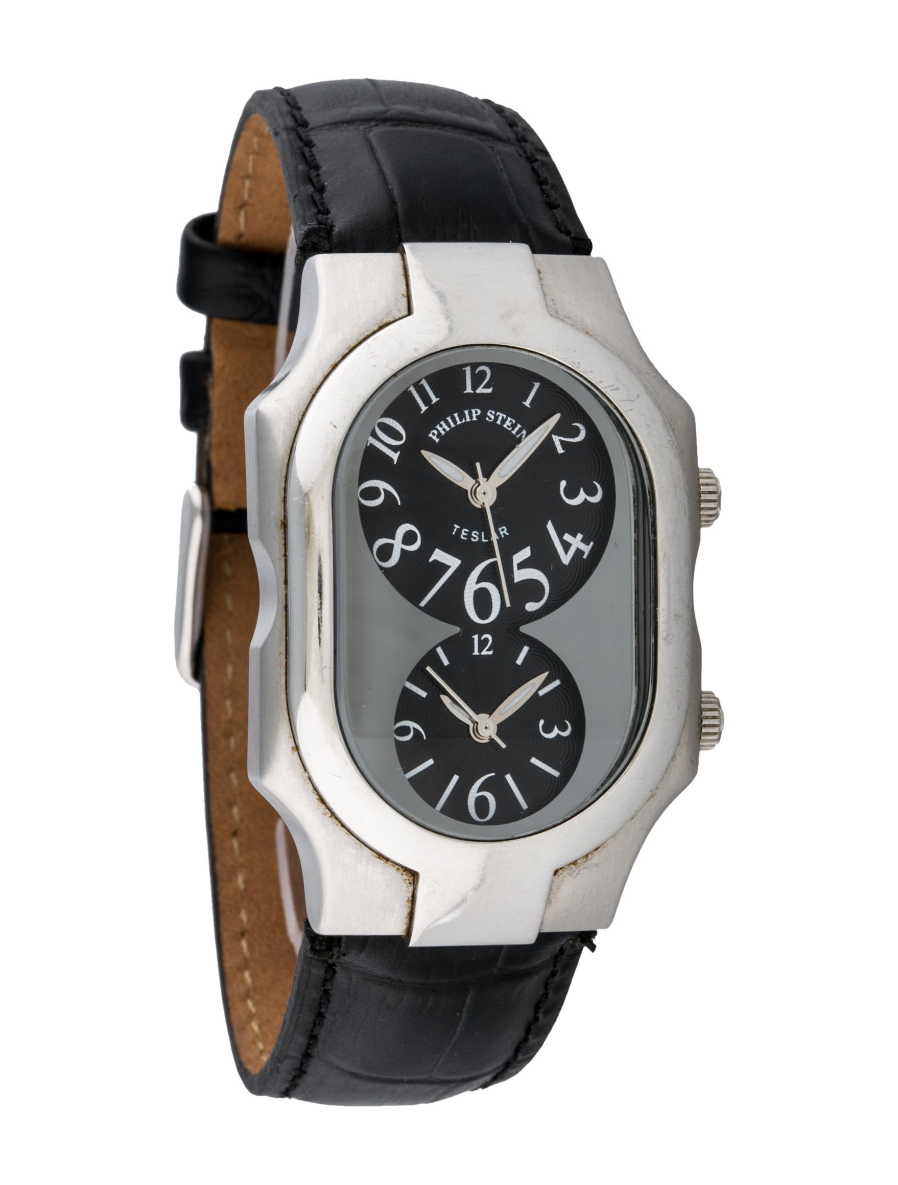 Philip stein dual time zone watch phs20074 the realreal for Philip stein watches