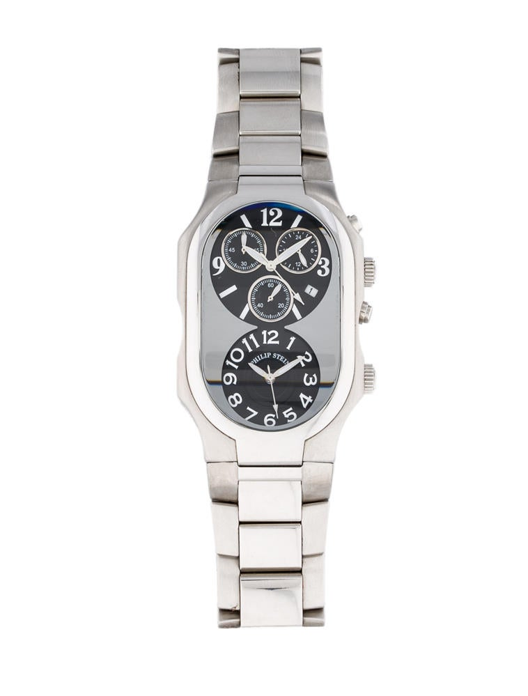 Philip stein signature chronograph watch phs20085 the realreal for Philip stein watches