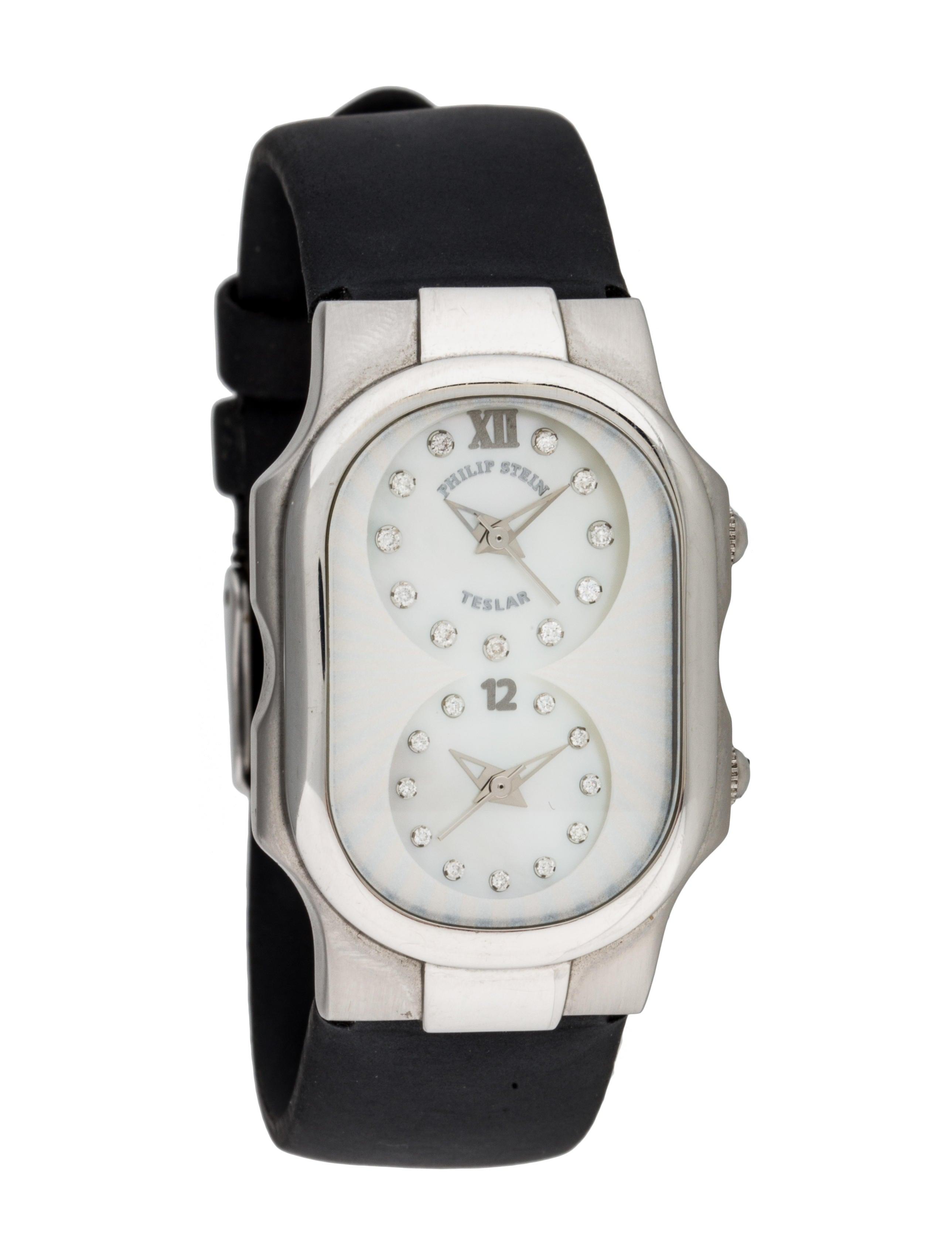 Philip stein teslar watch strap phs20321 the realreal for Philip stein watches