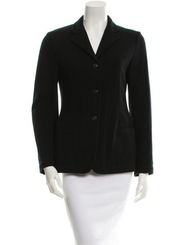Piazza Sempione Black Wool Jacket None