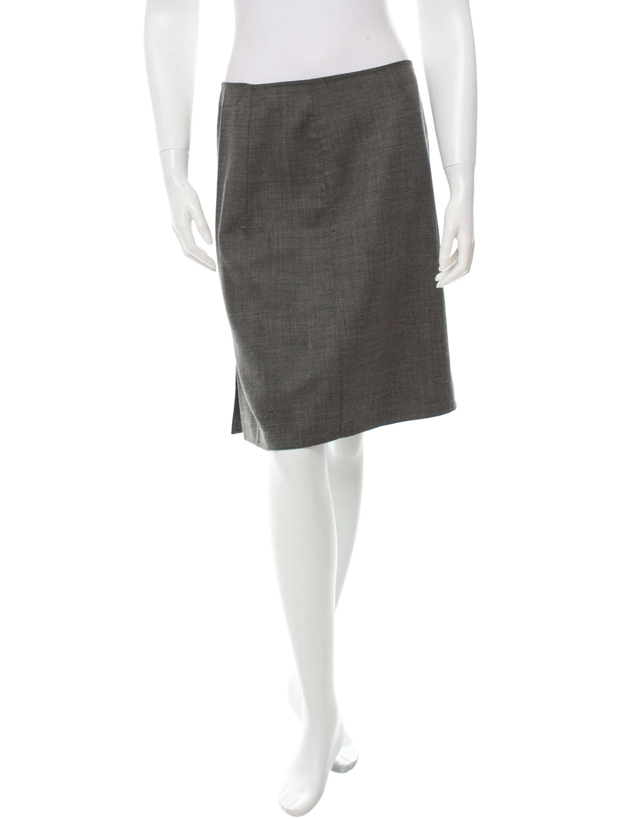 piazza sempione knee length pencil skirt clothing