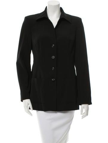 Piazza Sempione Wool Long Sleeve Jacket None