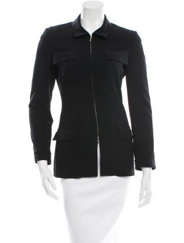 Piazza Sempione Wool Zipped Jacket None