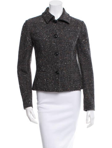 Piazza Sempione Wool Bouclé Jacket None