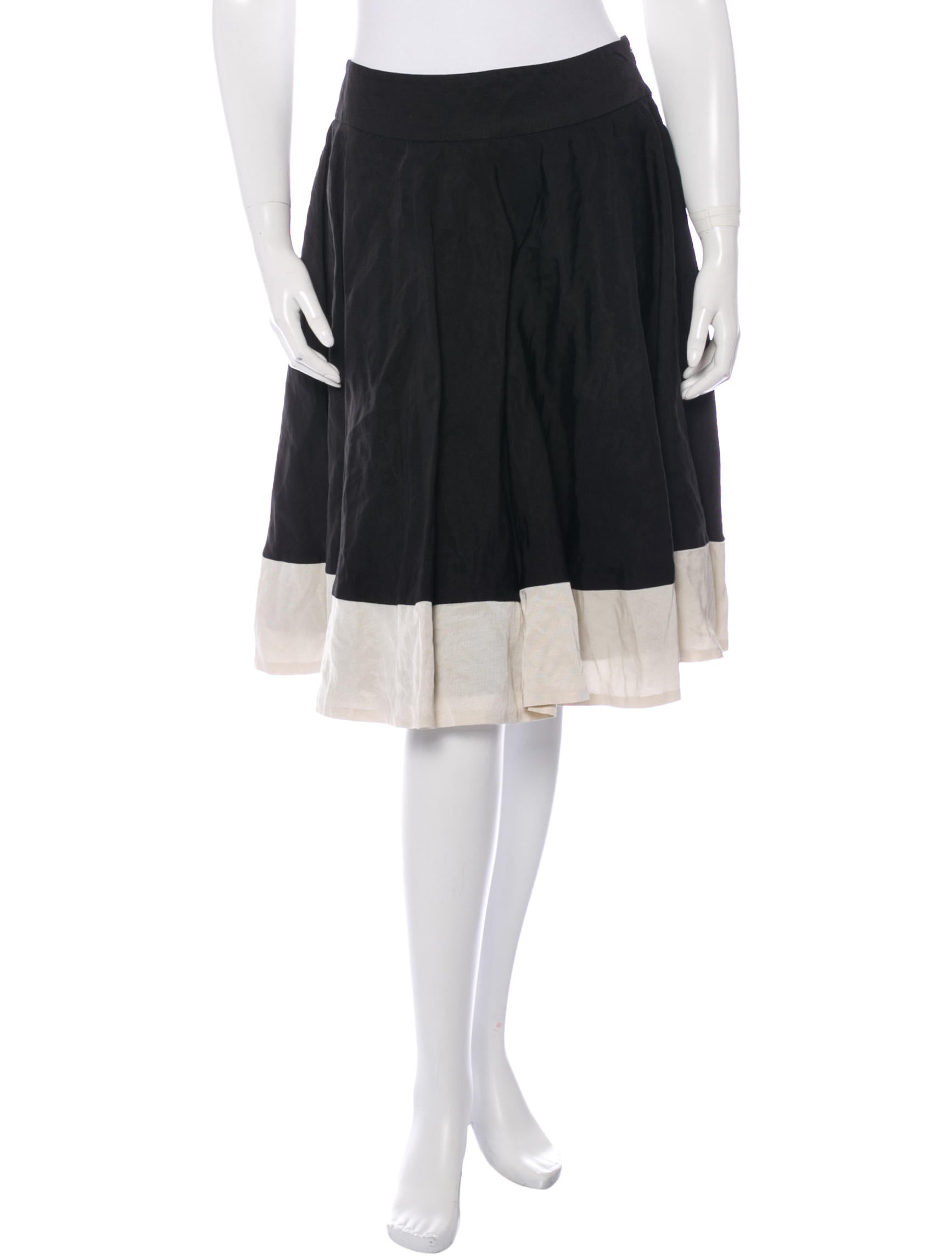 piazza sempione a line knee length skirt clothing
