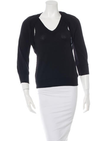 Piazza Sempione Wool Knit Top None