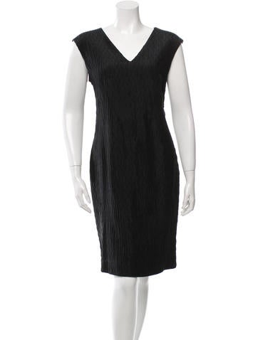 Piazza Sempione Textured Knee-Length Dress