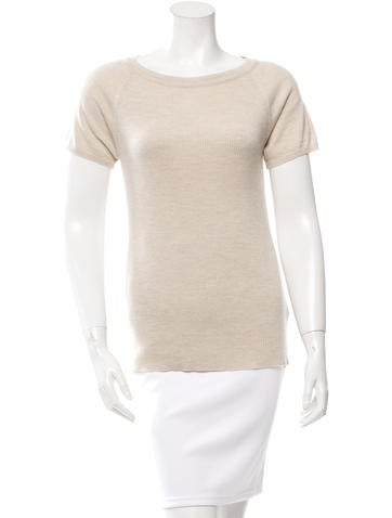 Piazza Sempione Knit Wool Top None