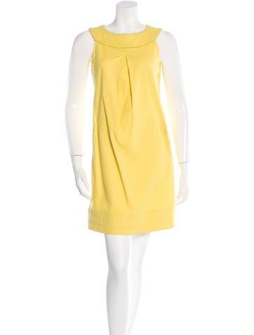 Piazza Sempione Fringed Shift Dress None