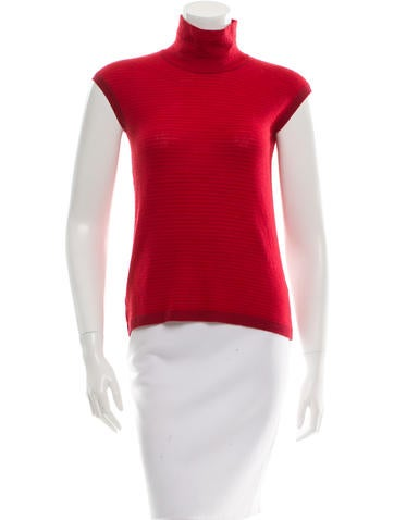 Piazza Sempione Wool & Cashmere-Blend Top None