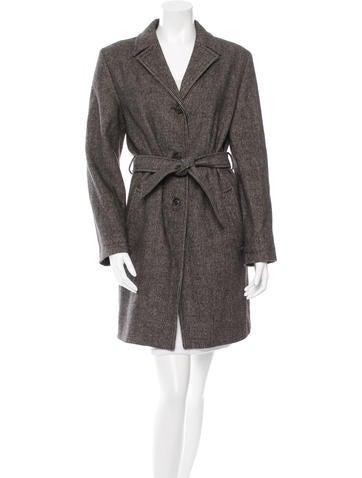 Piazza Sempione Wool & Angora-Blend Coat