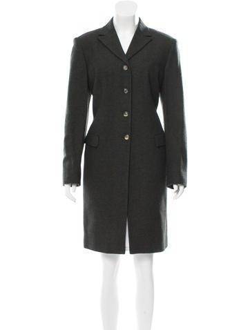 Piazza Sempione Wool Chesterfield Coat