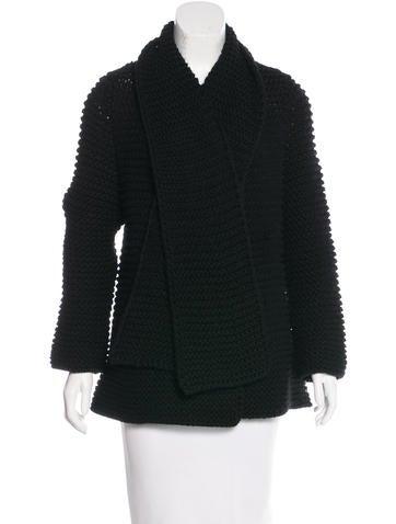 Piazza Sempione Virgin Wool Knit Jacket None