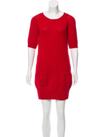 Piazza Sempione Wool Sweater Dress None