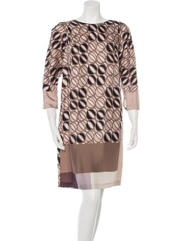 Piazza Sempione Silk Shift Dress None