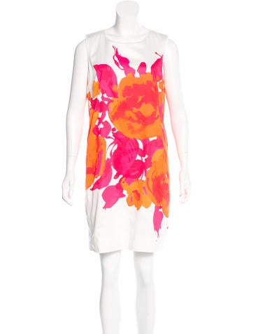 Piazza Sempione Floral Print Shift Dress w/ Tags