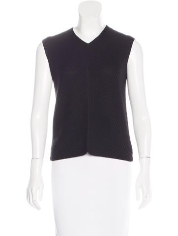 Piazza Sempione Sleeveless Wool Sweater None