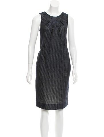 Piazza Sempione Sleeveless Knee-Length Dress