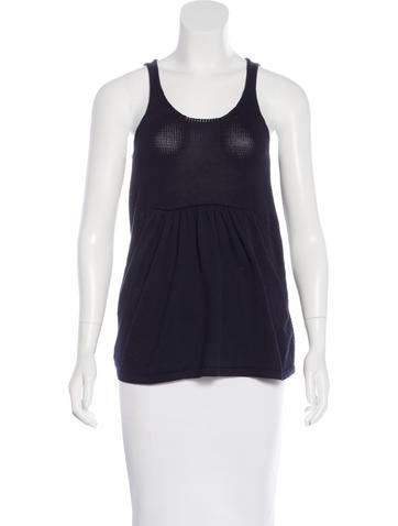 Piazza Sempione Knit Sleeveless Top None