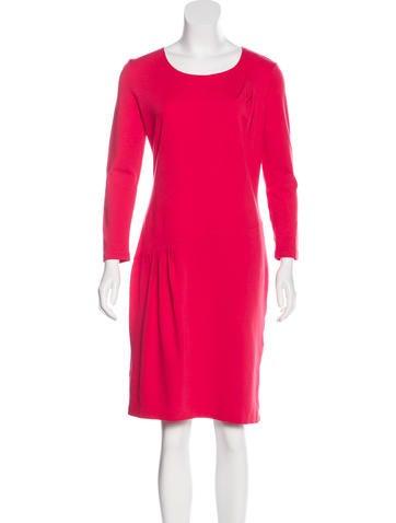 Piazza Sempione Long Sleeve Sheath Dress None