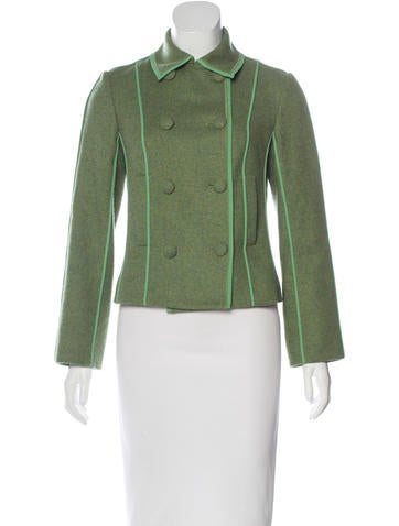 Piazza Sempione Virgin Wool Double-Breasted Jacket None