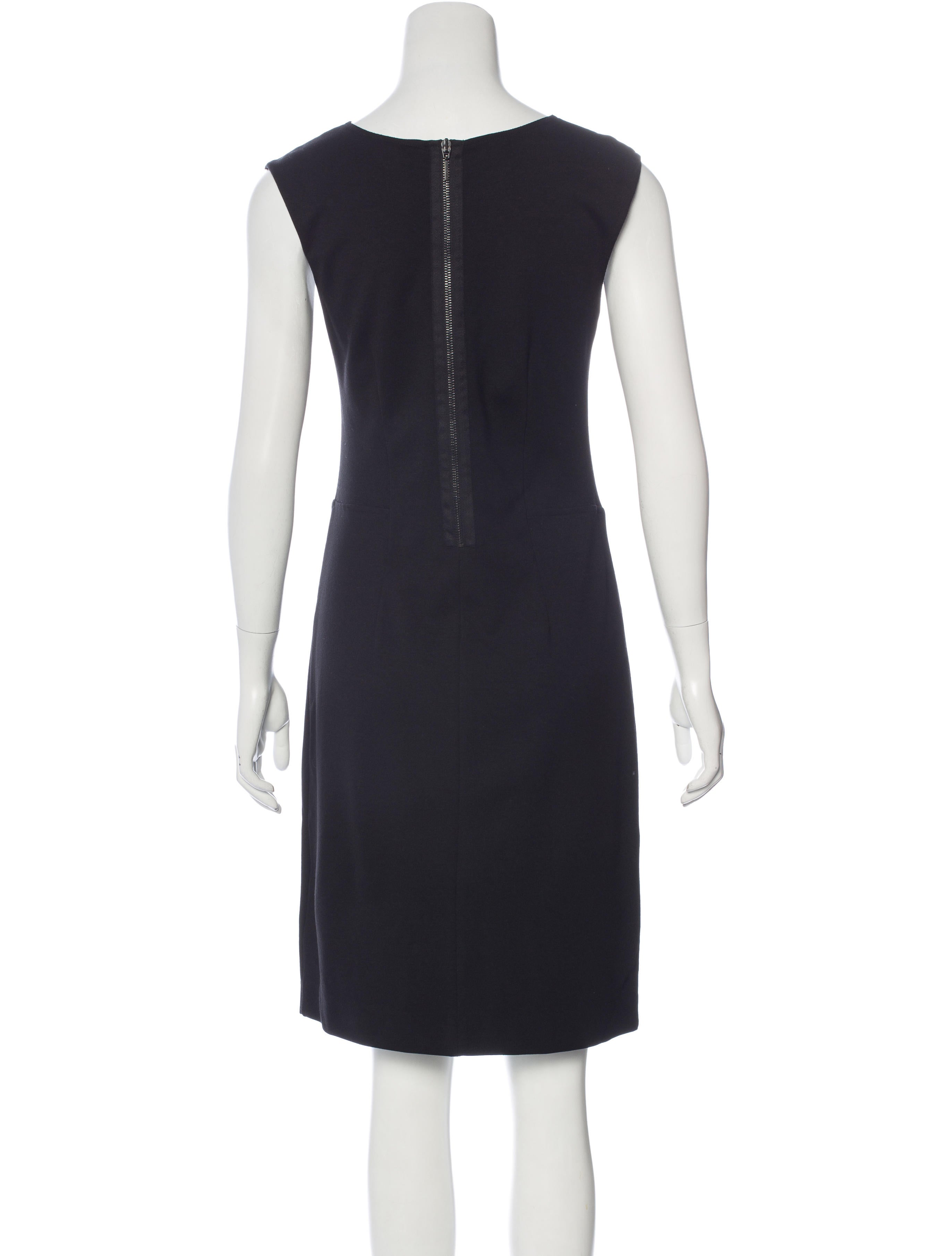 Piazza Sempione Sleeveless Sheath Dress Clothing  : PIA273223enlarged from www.therealreal.com size 2744 x 3620 jpeg 250kB