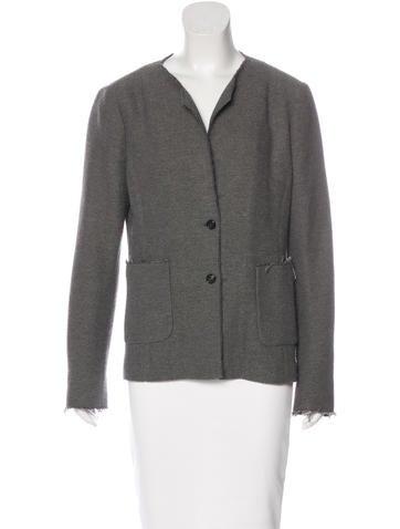 Piazza Sempione Tweed Wool Jacket None