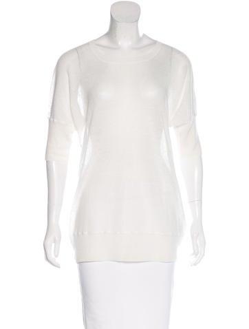Piazza Sempione Linen Short Sleeve Top None