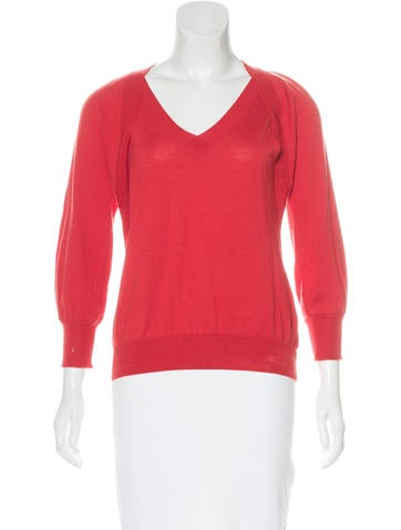Piazza Sempione Long Sleeve Knit Top None