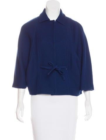 Piazza Sempione Short Sleeve Wool Jacket None