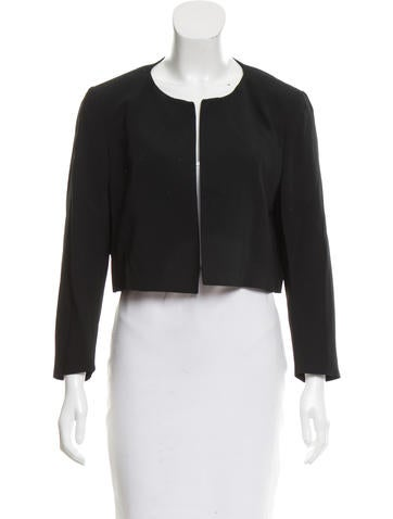 Piazza Sempione Structured Open Front Jacket None