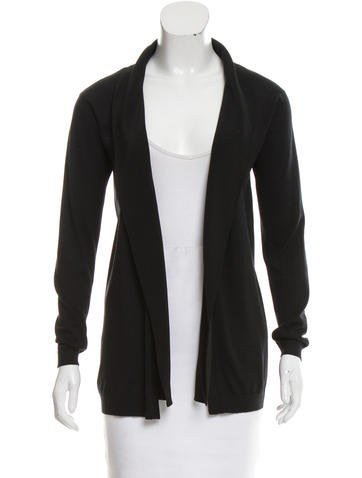 Piazza Sempione Wool Silk-trimmed Cardigan None