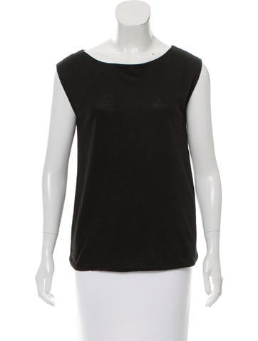 Piazza Sempione Sleeveless Linen Top w/ Tags None