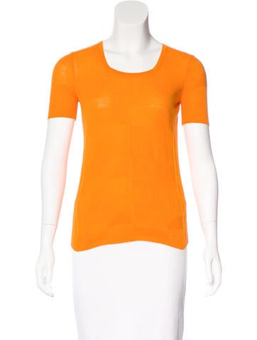 Piazza Sempione Short Sleeve Knit Top None