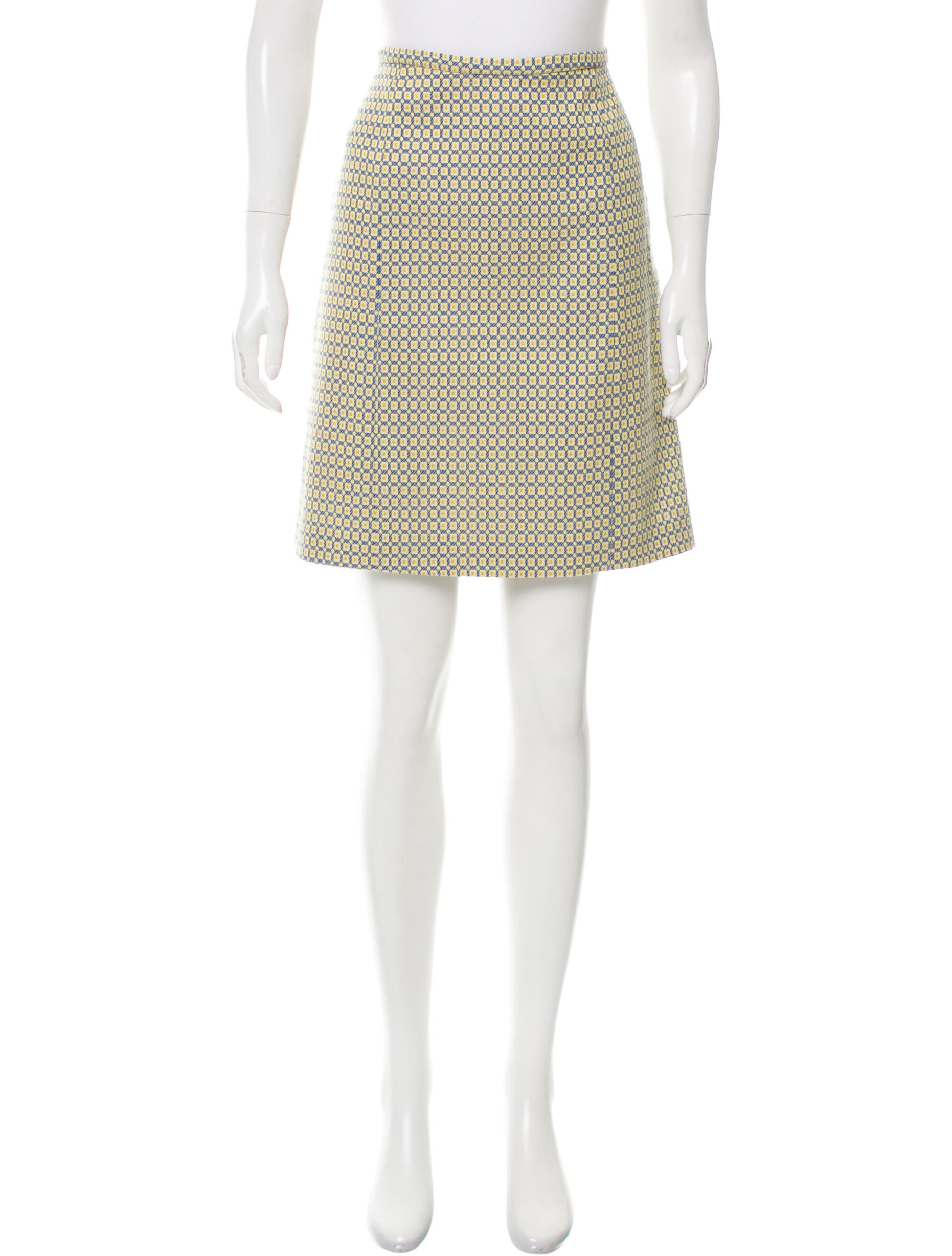 piazza sempione patterned knee length skirt clothing