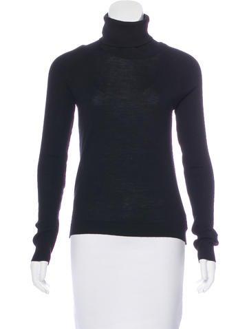 Piazza Sempione Wool Turtleneck Sweater None