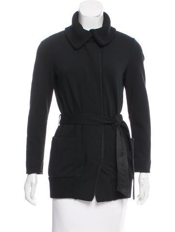 Piazza Sempione Wool Button-Up Jacket None