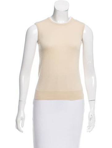 Piazza Sempione Sleeveless Wool Top None