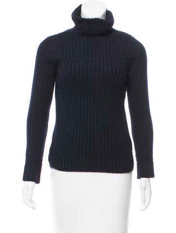 Piazza Sempione Wool Turtle Neck Sweater None