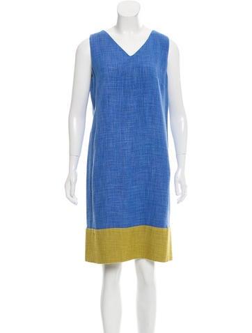 Piazza Sempione Colorblock Shift Dress None